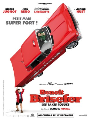 Benoît Brisefer: Les taxis rouges - French Movie Poster (thumbnail)
