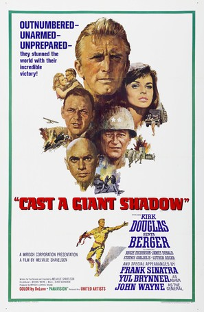 Cast a Giant Shadow - Movie Poster (thumbnail)