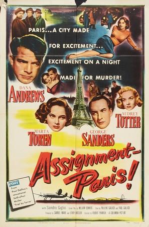 Assignment: Paris - Movie Poster (thumbnail)