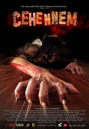 Cehennem 3D - Turkish Movie Poster (thumbnail)