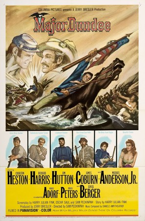 Major Dundee - Movie Poster (thumbnail)