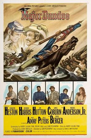 Major Dundee - Movie Poster (thumbnail)