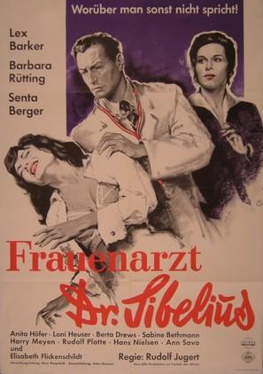 Frauenarzt Dr. Sibelius - German Movie Poster (thumbnail)