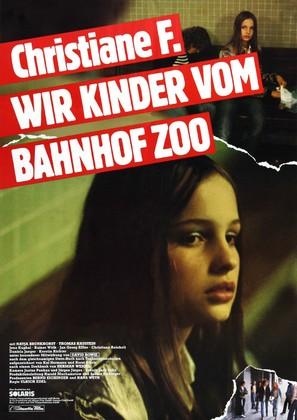 Christiane F. - German Movie Poster (thumbnail)