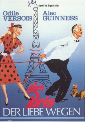 To Paris with Love - German Movie Poster (thumbnail)