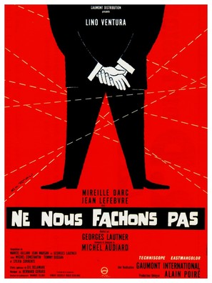 Ne nous fâchons pas - French Movie Poster (thumbnail)