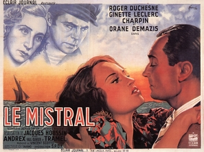 Le mistral - French Movie Poster (thumbnail)