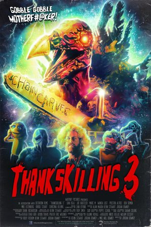 ThanksKilling 3 - Movie Poster (thumbnail)