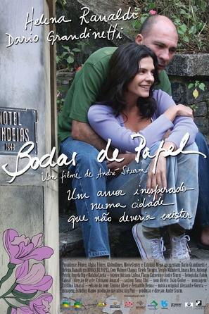 Bodas de Papel - Brazilian Movie Poster (thumbnail)