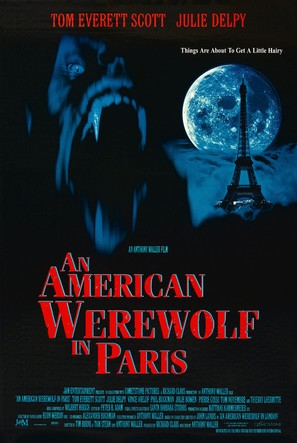 An American Werewolf in Paris - Movie Poster (thumbnail)
