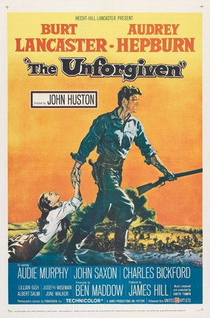 The Unforgiven - Theatrical poster (thumbnail)