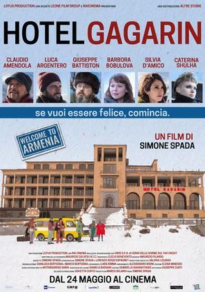 Hotel Gagarin - Italian Movie Poster (thumbnail)