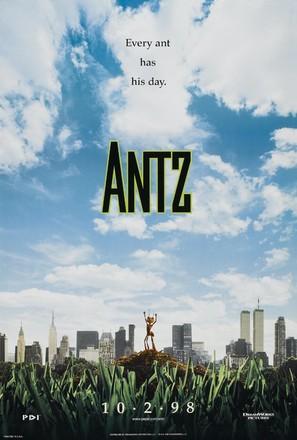 Antz - Teaser movie poster (thumbnail)