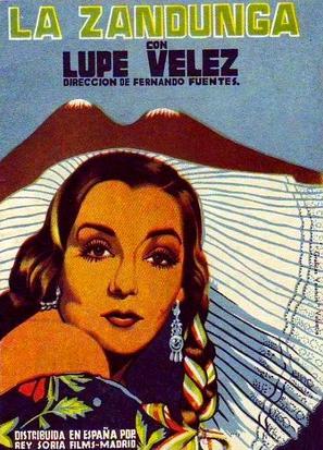 La zandunga - Spanish Movie Poster (thumbnail)