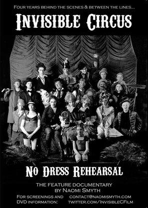 Invisible Circus: No Dress Rehearsal - British Movie Poster (thumbnail)