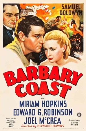 Barbary Coast - Movie Poster (thumbnail)