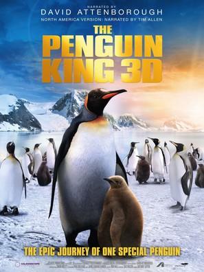 The Penguin King 3D - British Movie Poster (thumbnail)