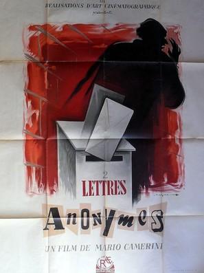 Due lettere anonime