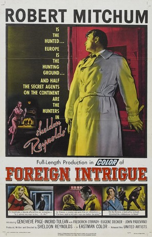 Foreign Intrigue - Theatrical poster (thumbnail)