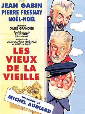 Les vieux de la vieille - French Movie Poster (thumbnail)