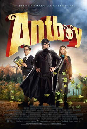 Antboy - Danish Movie Poster (thumbnail)