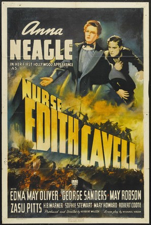 Nurse Edith Cavell - Movie Poster (thumbnail)