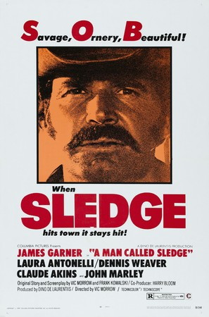 A Man Called Sledge - Movie Poster (thumbnail)