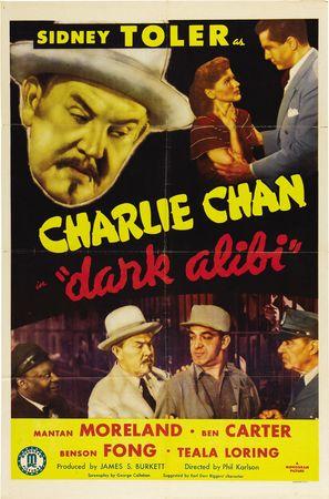 Dark Alibi - Movie Poster (thumbnail)