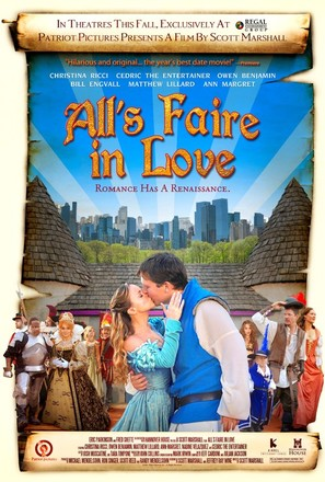 All's Faire in Love - Theatrical movie poster (thumbnail)