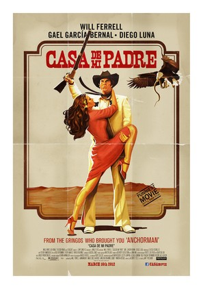 Casa de mi Padre - Movie Poster (thumbnail)