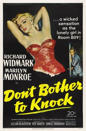 Don't Bother to Knock - Movie Poster (thumbnail)