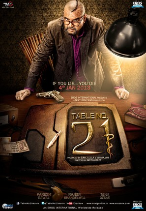 Table No.21 - Indian Movie Poster (thumbnail)