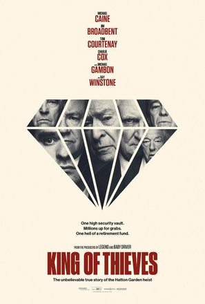 King of Thieves - British Movie Poster (thumbnail)