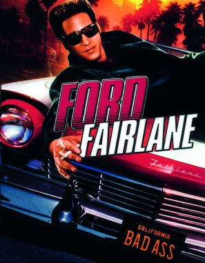 The Adventures of Ford Fairlane - Blu-Ray movie cover (thumbnail)