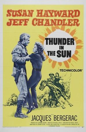 Thunder in the Sun - Movie Poster (thumbnail)