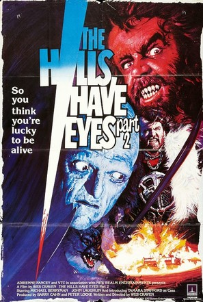 The Hills Have Eyes Part II - Movie Poster (thumbnail)