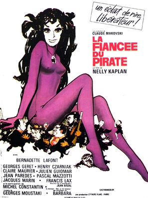 La fiancée du pirate - French Movie Poster (thumbnail)