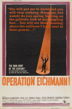 Operation Eichmann - Movie Poster (thumbnail)