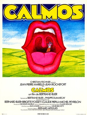 Calmos - French Movie Poster (thumbnail)