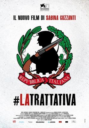 La trattativa - Italian Movie Poster (thumbnail)