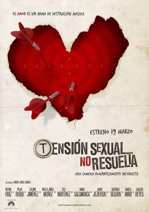 Tensión sexual no resuelta - Spanish Movie Poster (thumbnail)