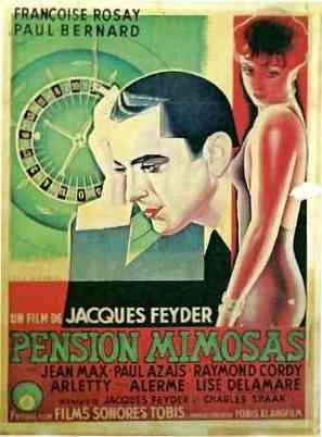 Pension Mimosas - French Movie Poster (thumbnail)