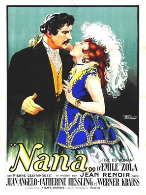 Nana 1926 Movie Posters
