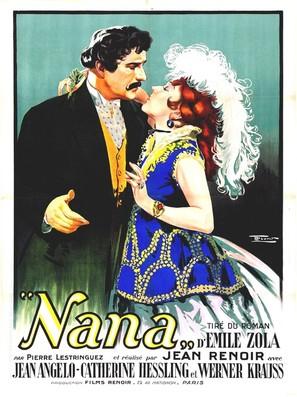 Nana - French Movie Poster (thumbnail)