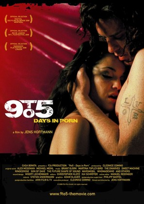 9 to 5: Days in Porn - German Movie Poster (thumbnail)
