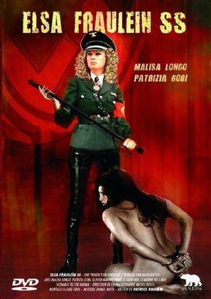 Elsa Fräulein SS - French DVD cover (thumbnail)