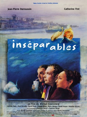Inséparables - French Movie Poster (thumbnail)