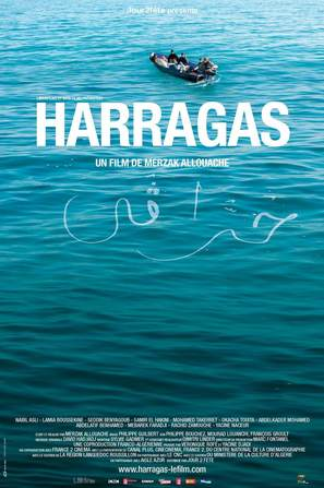 Harragas - French Movie Poster (thumbnail)