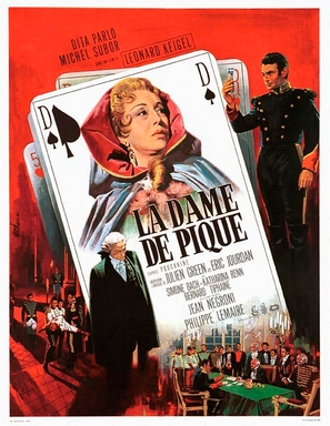 La dame de pique - French Movie Poster (thumbnail)