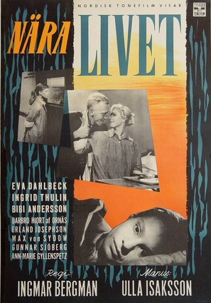 Nära livet - Swedish Movie Poster (thumbnail)
